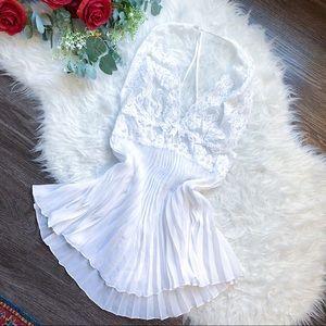 VINTAGE SATIN SLIP DRESS